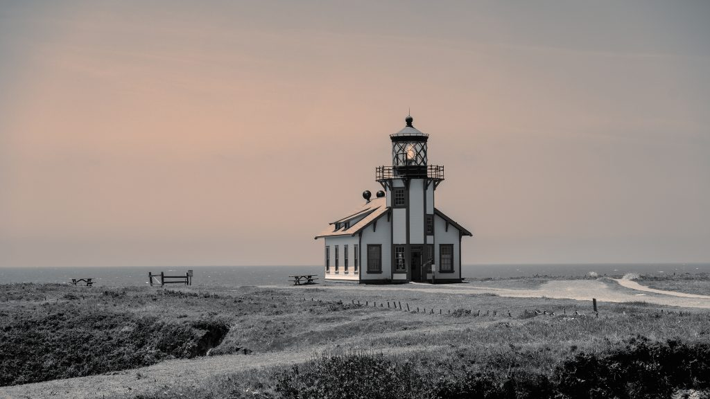 "Lori Harrington, Point Cabrillo Light Station, Photograph, 23x16"""