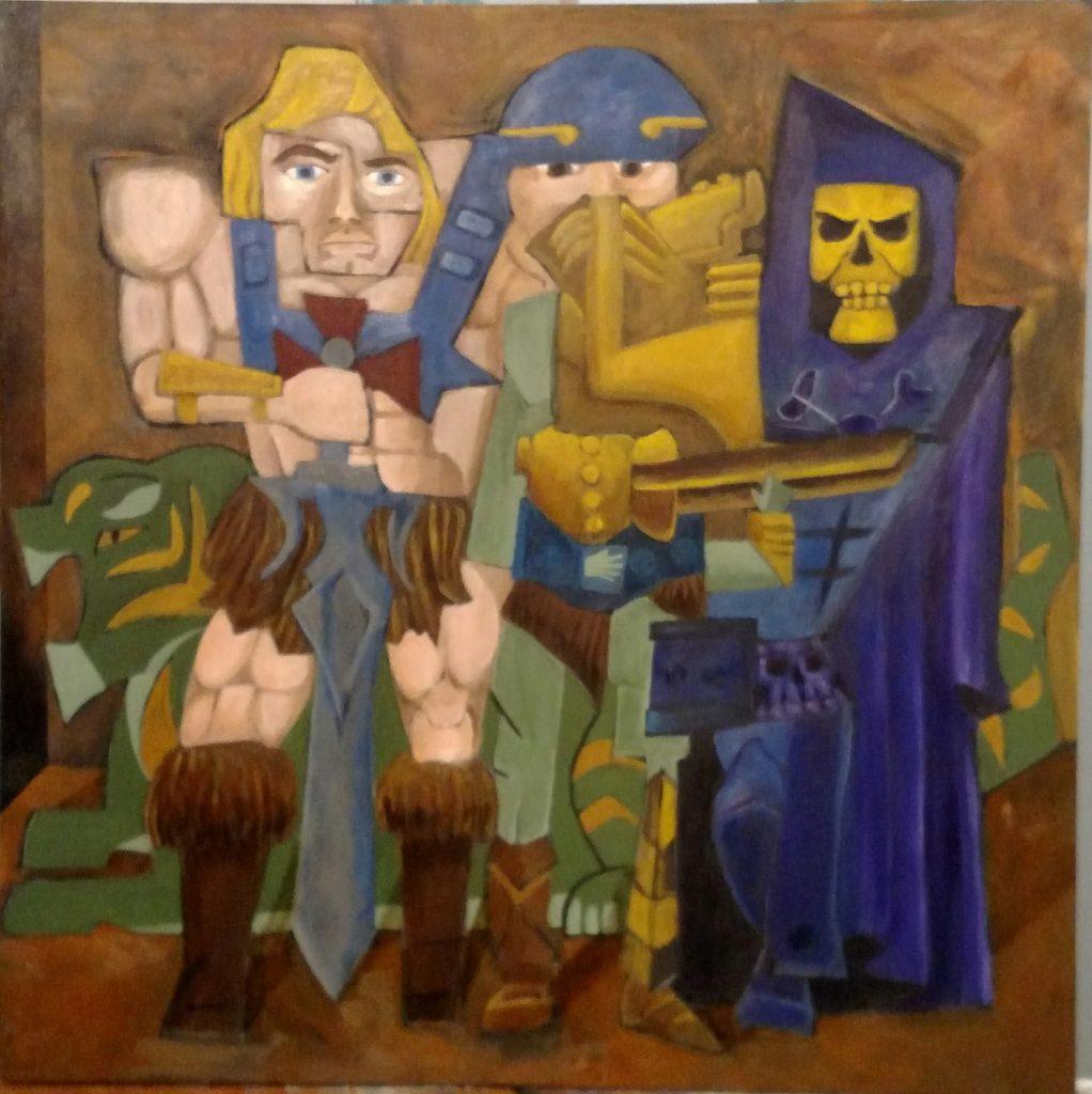 Andrew Weibel, Los Tres Maestros