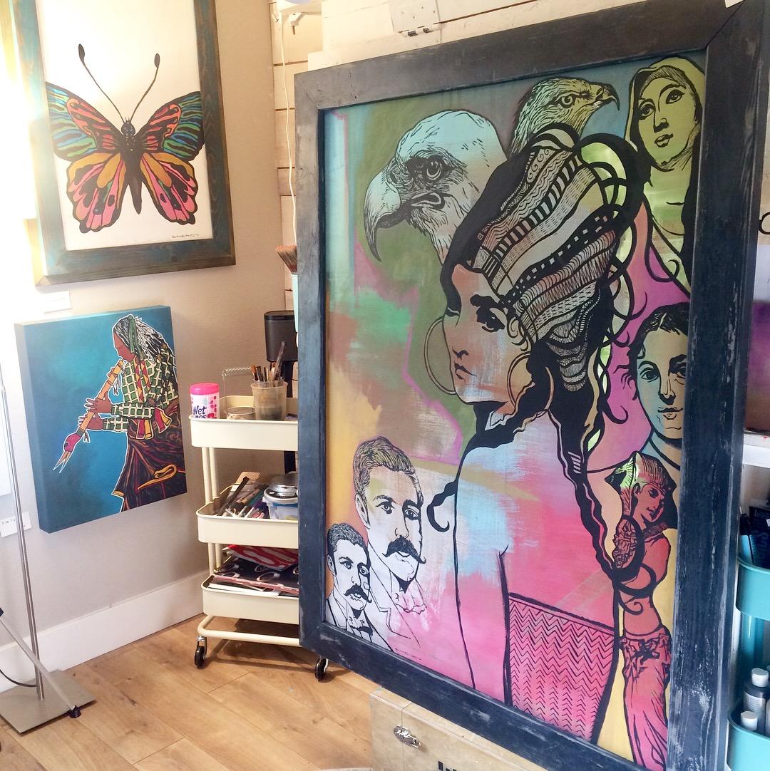 Cheney LaRue Studio, 2018